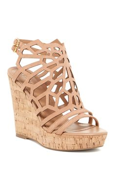 Apollo Platform Wedge Sandal by Charles By Charles David on @nordstrom_rack