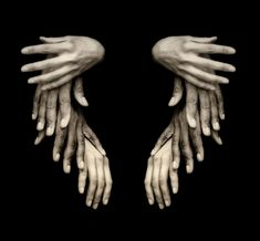 antonio arcas-- such a reminder that our hands can become  the wings of angels to each other