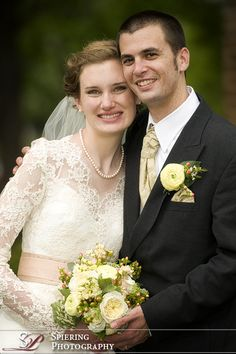 Gorgeous elegant modest wedding gown