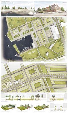 Wasserkante / Park / Blockrand: Perspektiven, Übersicht, Ausschnitt, Freiraum