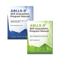 Article from ABLLS-R® Skill Acquisition Program Manuals (Book 1 & 2) author, Tammy J Frazer, introducing her new work to the ABA community.