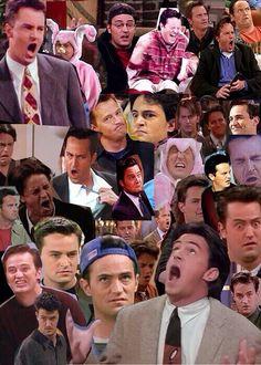 Chandler Bing - Friends collage