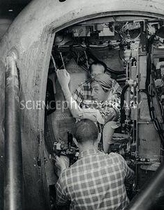 Astronaut Virgil I. Grisson in centrifuge test Mercury Seven, Gus Grissom, Project Mercury, Space Cowboys, Nasa Astronauts, Vintage Space, Space Travel, Gemini, Hero