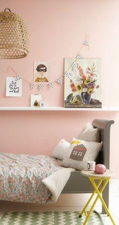 paul & paula the design files bibelotte petit & small Bright Girls Rooms, Little Girl Rooms, Kids Interior, Interior Design, Stoff Design, The Design Files, Pink Room, Kid Spaces, Kids Decor