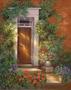 Paint Your Own Masterpiece on Canvas-Victoria Lane by craftitinc