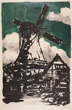 Emil Nolde - The Big Windmill, 1907-15