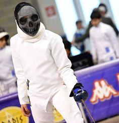 Custom Fencing Mask