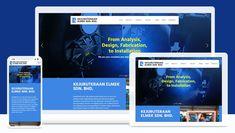 kejuruteraan Elmek - Engineering Website Design
