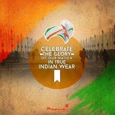 Let the glory of your nation reflect in your style. Get into true desi colours and have a Happy Republic Day!   #ManishCreations #MensFashion #IndianWear #RepublicDay #EthnicColours #JaiHind