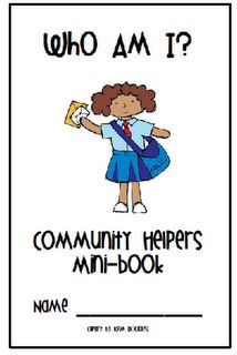 Community Helpers freebie