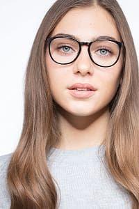 b1a5e1680bcd Naomi Black Metal Eyeglass Frames for Women from EyeBuyDirect Eyeglasses  Frames For Women