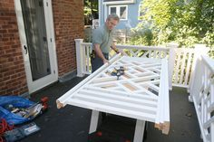 diy chippendale railing