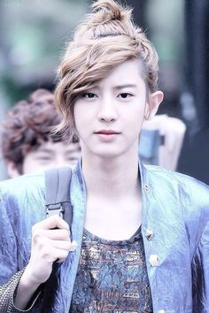Long hair CHANYEOL ^^ And I loved this hair~♡♥♡