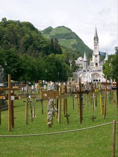 The Church of Our Lady (Lourdes, France)