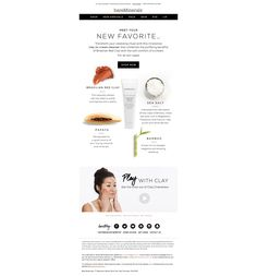 BareMinerals  |  Simplicity & layout