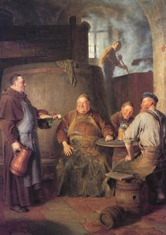 Eduard von Grützner - Der Klosterbrauer