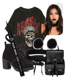 """""""Untitled #89"""" by xxprincessari on Polyvore featuring R13, Red Herring, Boohoo and Aspinal of London"""
