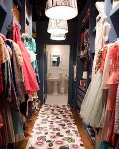 Carrie Bradshaw's closet <3
