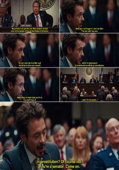 Movie & Comics Quotes: Iron Man 2 Movie Quote-1
