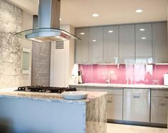 Pink Kitchen Walls pink and white kitchen | kitchen colour schemes - 10 ideas