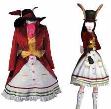 Alice Madness Returns Late Rabbit Kleid Fancy Dress Cosplay Costume Uniform