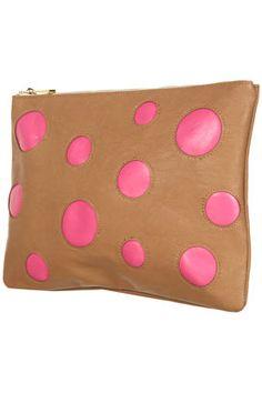 Spot Colour Block Clutch Bag ($20-50) - Svpply