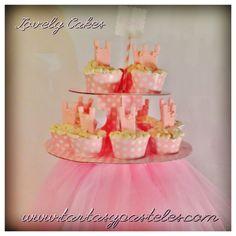 Cupcakes bailarina con tutú