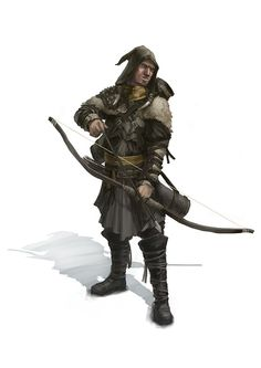 Mercenary Archer by Windmaker.deviantart.com on @deviantART