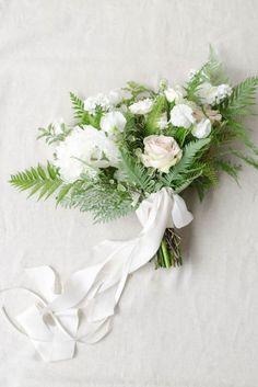 Holman Ranch Wedding, Carmel Valley | Floral Design by Gavita Flora #Bridal #bouquet #fern #wedding