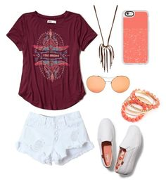 """stay bright:) {238}"" by lilyschaefer on Polyvore featuring Hollister Co., WithChic, NAKAMOL, Gucci, Casetify and Keds"