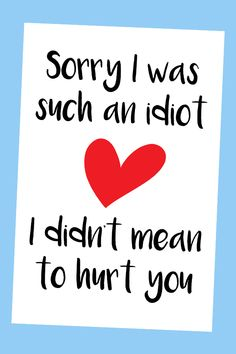 Apology cards funny, apology cards I'm sorry, apology cards for boyfriend Sorry Quotes For Friend, I Am Sorry Quotes, True Love Quotes, Love Quotes For Him, Love Cards For Him, Sorry Message For Boyfriend, Cards For Boyfriend, Sorry Memes, Apology Quotes For Him