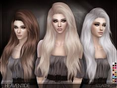 My Sims 4 Blog: Stealthic Heaventide Hair for Females