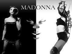 #madonna #black&white