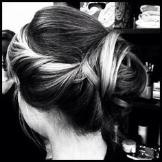 big day hair.
