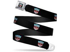 #transformer transformers autobot logo (fade) seatbelt buckle belt