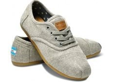 Grey Hemp Women's Cordones | TOMS.com. Found my next pair of shoes... right after we pay all of our bills. #twobrokekids