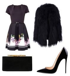 """Going out"" by instagramfunyime on Polyvore featuring Ted Baker and Jimmy Choo"