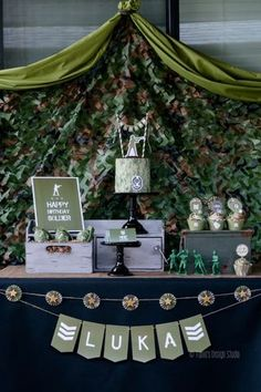 Army Themed Birthday Party (karaspartyideas.com)