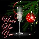 Happy New Year by KmyGraphic on DeviantArt Happy New Year Animation, I Love You Animation, Artist Cake, Holiday Images, Gifs, Favorite Holiday, Champagne, Merry Christmas, User Profile