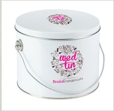 Wedtin Bridal Emergency Kit on #Etsy, $40.00 Great #Gift for #Brides or #BridalParty especially for Day-of prep.