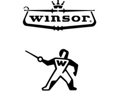 winsor sport fencing logo | charles s anderson