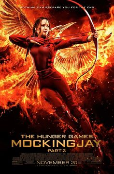 Katniss - The Hunger Games: Mockingjay Part 2 Movie Poster, 24 x 36 Inches - Theater Quality (Thick 8 Mil) - Jennifer Lawrence, Josh Hutcherson, Liam Hemsworth The Hunger Games, Hunger Games Movies, Hunger Games Catching Fire, Hunger Games Trilogy, Hunger Games Poster, Tribute Von Panem Mockingjay, Tribute Von Panem Film, Hunger Games Mockingjay, Mockingjay Part 2