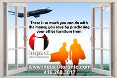 You can save 15% - 20% when you purchase your office furniture from impact office furnishings. Check our website at www.impact-toronto.com or call 416.268.3017 #office #officefurniture #toronto #brampton #vaughan #whitby #mississauga #concord #pickering #ajax #richmondhill #Markham