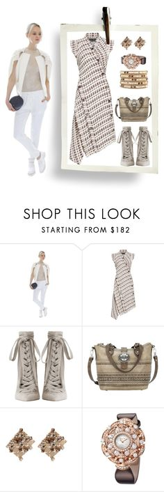 """""""Constance"""" by bren-johnson ❤ liked on Polyvore featuring Constance Boutet, Proenza Schouler, Zimmermann, Lanvin, Bulgari and Chan Luu"""