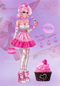 Be My Little Cupcake by kharis-art on deviantART