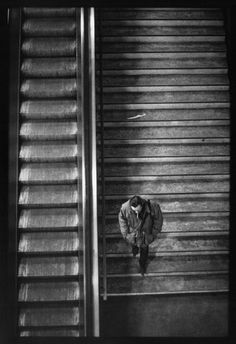 PARIS—In the railway network, 1997.  © Raymond Depardon / Magnum Photos