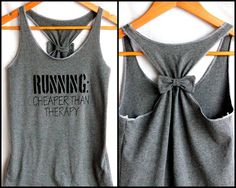 Running Workout Clothes RUNNING Cheaper than Therapy