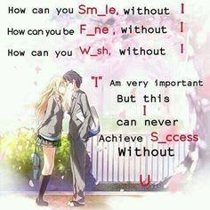 So sweet! Exactly for Shigatsu wa Kimi no Uso. For Kousei and Kaori. Sad Anime Quotes, Manga Quotes, Sad Quotes, Life Quotes, Inspirational Quotes, Kimi No Uso, Cute Love Quotes, You Lied, Crush Quotes