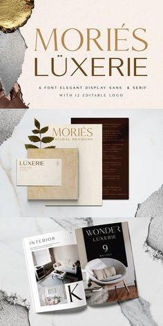 hello everyone, introduce our new collection Mories Luxerie - legan font duo with a combination of sans and serif and unique letters to complete the display Web Design, Creative Design, Condensed Font, Create Font, Font Combinations, Brand Guidelines, Typography Fonts, Social Media Design, New Fonts