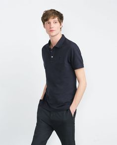 Discover the new ZARA collection online. The latest trends for Woman, Man, Kids and next season's ad campaigns. Polo, Zara Man, Stylish Men, Latest Trends, Hair Beauty, Mens Tops, Remus Lupin, Collection, Anton